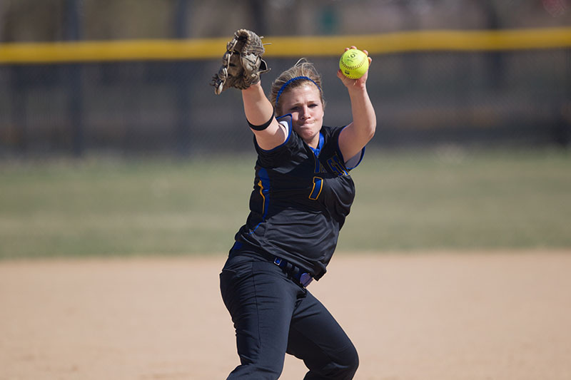 2nd Softball vs. Dordt (Iowa) - 4/21/14 Photo