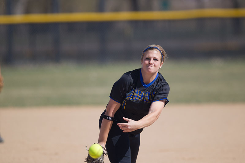 5th Softball vs. Dordt (Iowa) - 4/21/14 Photo