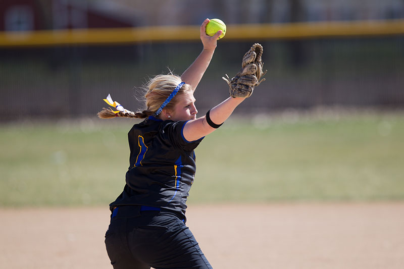 15th Softball vs. Dordt (Iowa) - 4/21/14 Photo