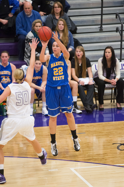 40th DSU Lady T's Basketball @ Sioux Falls (S.D.) Photo