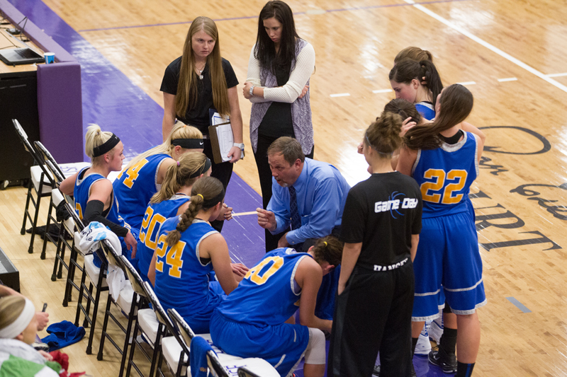 41st DSU Lady T's Basketball @ Sioux Falls (S.D.) Photo