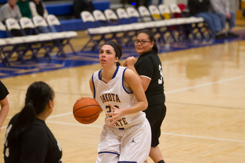 3rd DSU Lady T's Basketball vs. Oglala Lakota (S.D.) Photo