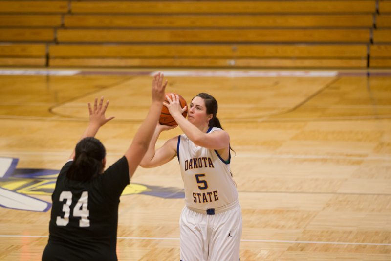 5th DSU Lady T's Basketball vs. Oglala Lakota (S.D.) Photo