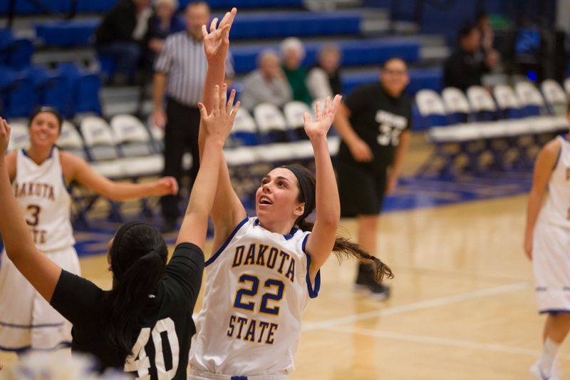 11th DSU Lady T's Basketball vs. Oglala Lakota (S.D.) Photo
