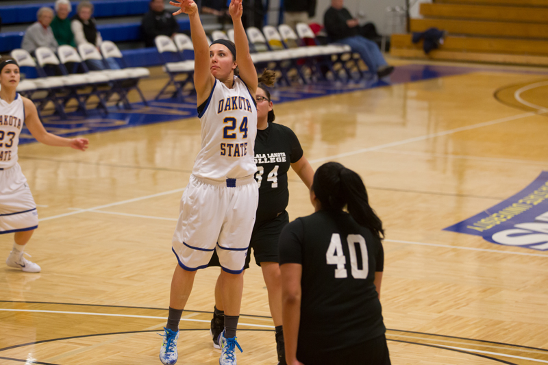 13th DSU Lady T's Basketball vs. Oglala Lakota (S.D.) Photo