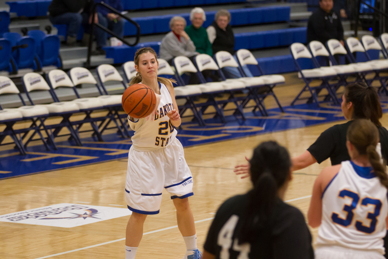 21st DSU Lady T's Basketball vs. Oglala Lakota (S.D.) Photo