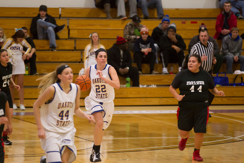22nd DSU Lady T's Basketball vs. Oglala Lakota (S.D.) Photo