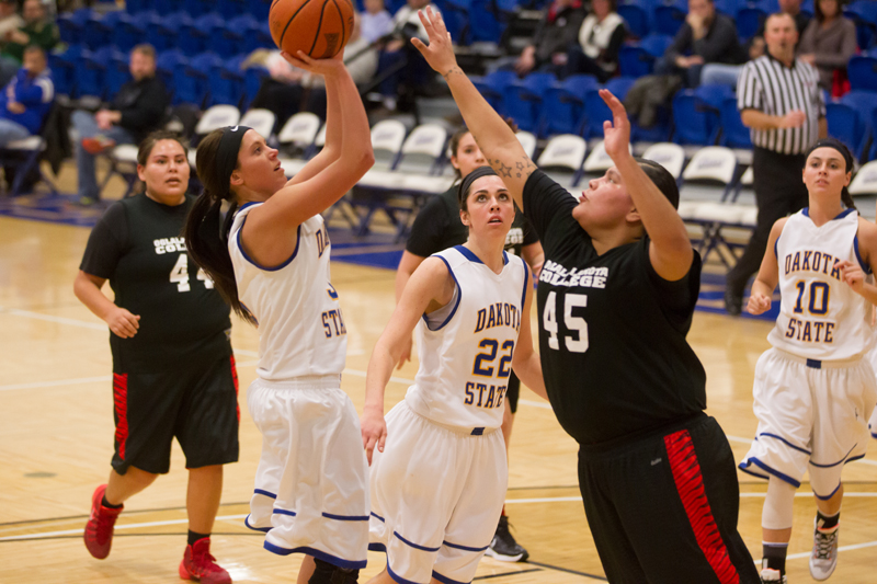 23rd DSU Lady T's Basketball vs. Oglala Lakota (S.D.) Photo