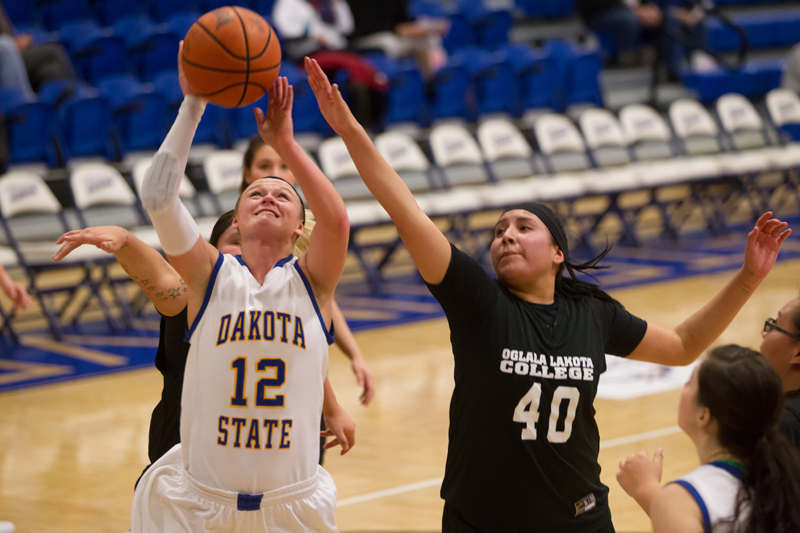 29th DSU Lady T's Basketball vs. Oglala Lakota (S.D.) Photo