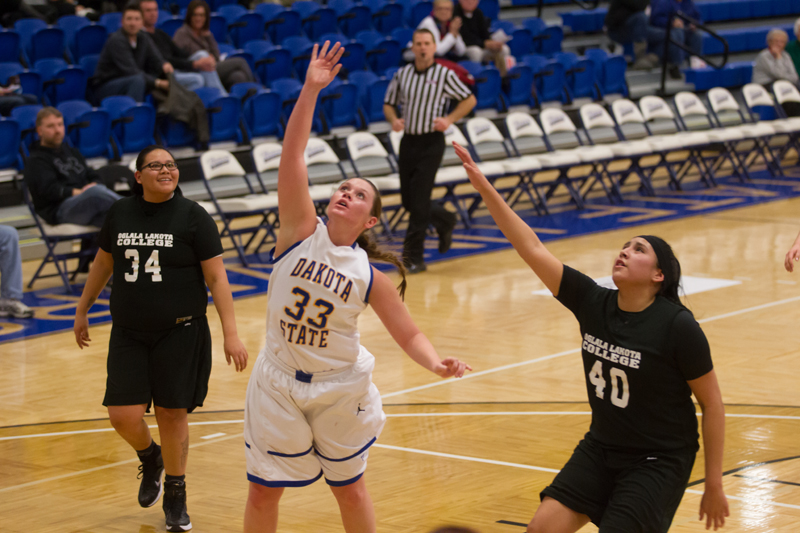34th DSU Lady T's Basketball vs. Oglala Lakota (S.D.) Photo