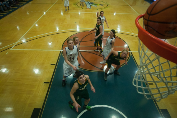 Women's Basketball 1st Round NSAA Conference Tournament - Photo 4