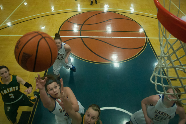 Women's Basketball 1st Round NSAA Conference Tournament - Photo 8