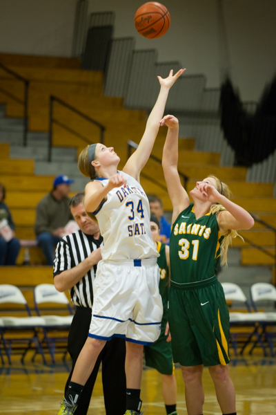 Women's Basketball 1st Round NSAA Conference Tournament - Photo 15