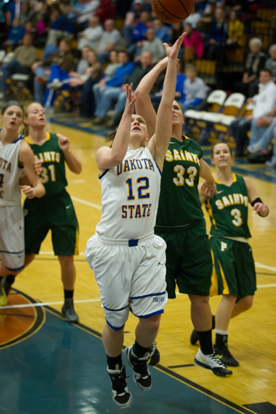 Women's Basketball 1st Round NSAA Conference Tournament - Photo 21