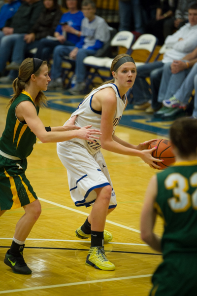 Women's Basketball 1st Round NSAA Conference Tournament - Photo 27