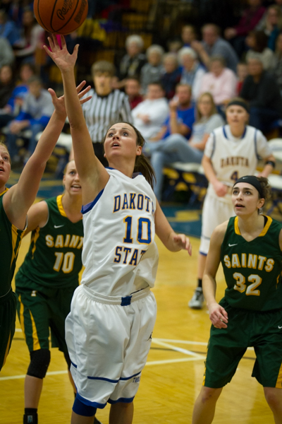 Women's Basketball 1st Round NSAA Conference Tournament - Photo 35