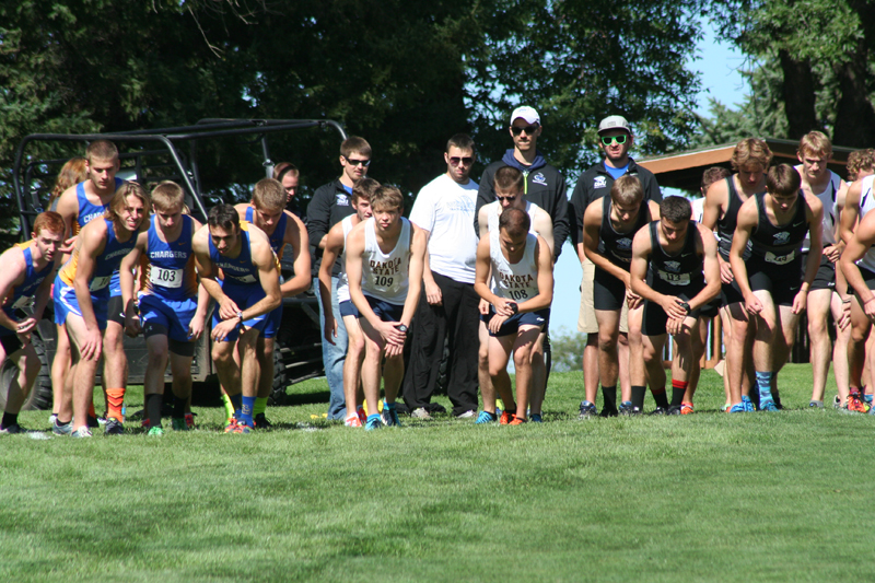 5th DSU Men's Cross Country  -  Herb Blakely Invitational Photo