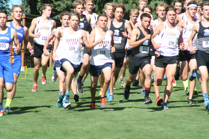 6th DSU Men's Cross Country  -  Herb Blakely Invitational Photo