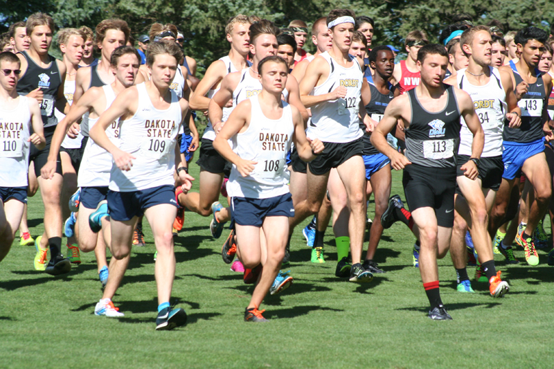 7th DSU Men's Cross Country  -  Herb Blakely Invitational Photo