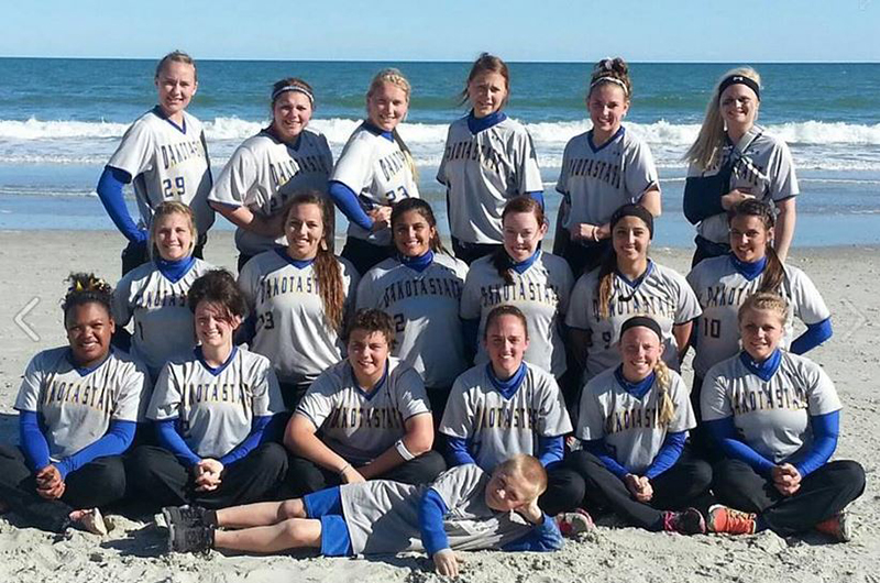 1st Softball Spring Trip Games 1 & 2 Photo