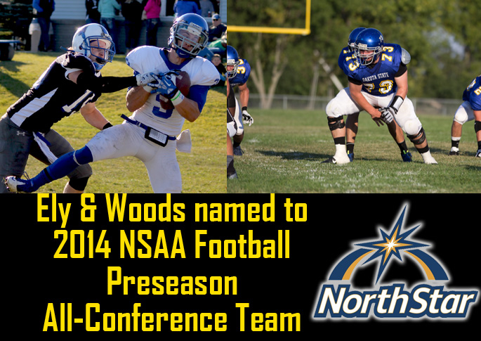 Ely and Woods listed on NSAA Football Preseason All-Conference Team