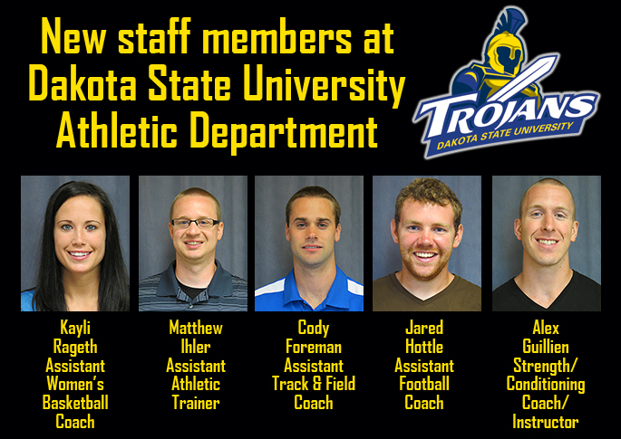 New faces at DSU Athletic Department